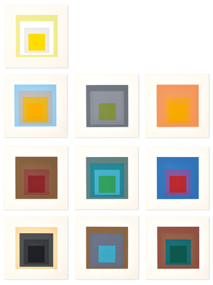 Portfolio. Homage to the Square: Ten Works by Josef Albers