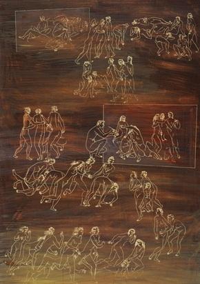 Erni Hans, Figure Study