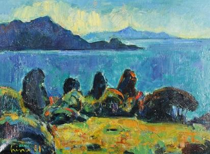 Liner Carl, Eccica Korsika
