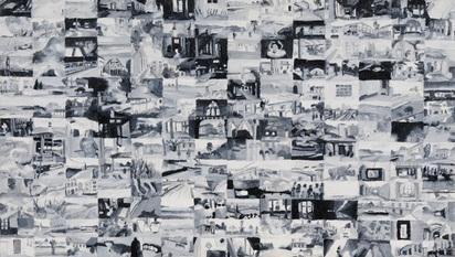 Gassmann Toni, 2 paintings: Untitled, 1993; Untitled, 1996