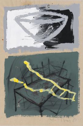Merz Albert, 3 sheets: Untitled, 1989; Untitled