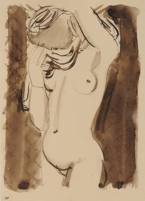Barraud Maurice, Female Nude