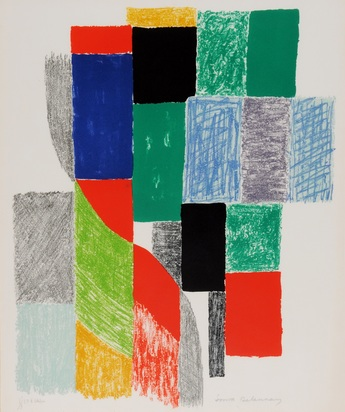 Delaunay Sonia, Composition