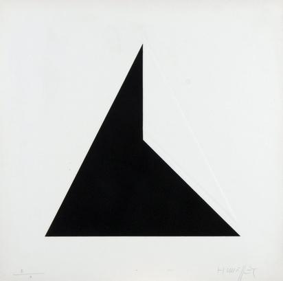 Honegger Gottfried, Triptych: Triangle; Cercle; Carré