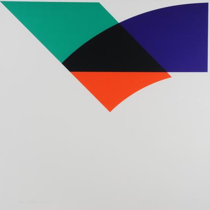 Honegger Gottfried, 3 sheets: Untitled