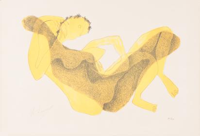 Laurens Henri, Femme allongée au bras levé