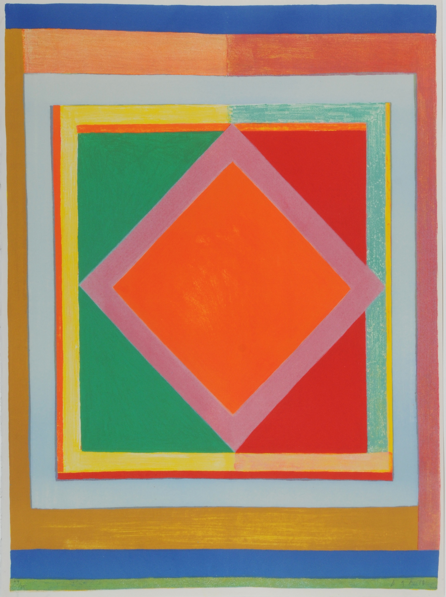 Barth Wolf, 6 sheets: Abstract Composition