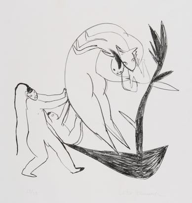 Ikemura Leiko, 10 sheets: Untitled