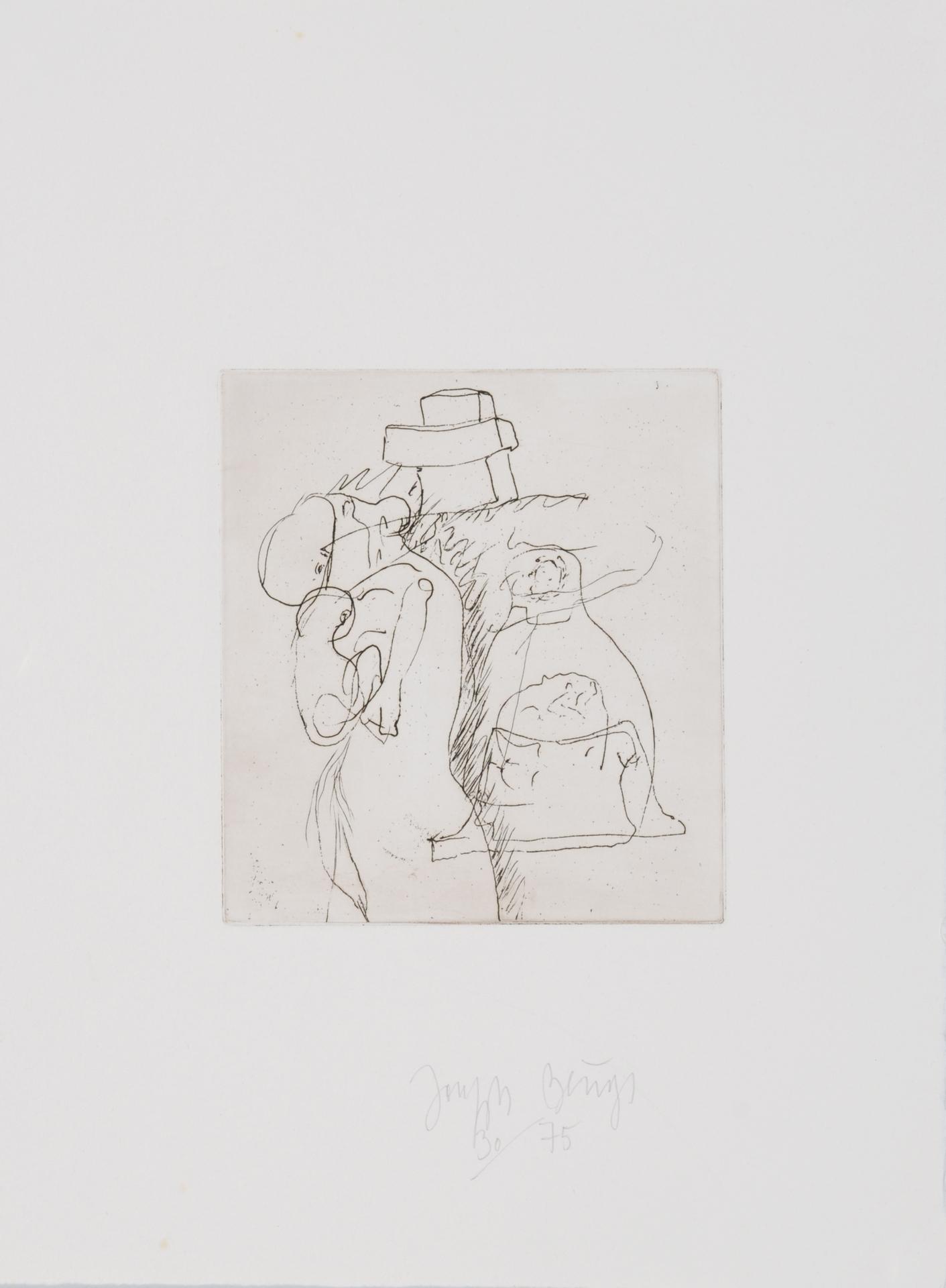 """Beuys Joseph, Die Mütter, from """"Zirkulationszeit"""""""