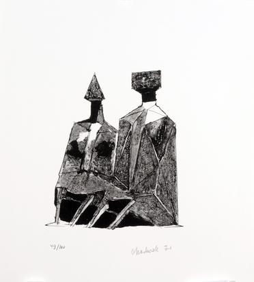 Portfolio, Fünf Bildhauer für Halldór Laxness
