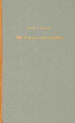 Ionesco Eugène, Book. Alle Katzen sind sterblich. Ein Rundgang durch das Ionesco-Universum