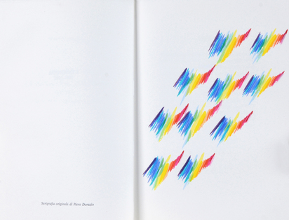 Dorazio Piero, Book. La brace delle parole 1981 - 1983