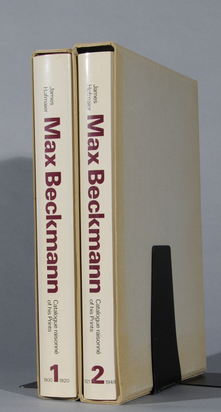Beckmann Max, Werkverzeichnis: James Hofmaier. Max Beckmann, Catalogue Raisonné of His Prints, Vol. 1 and 2