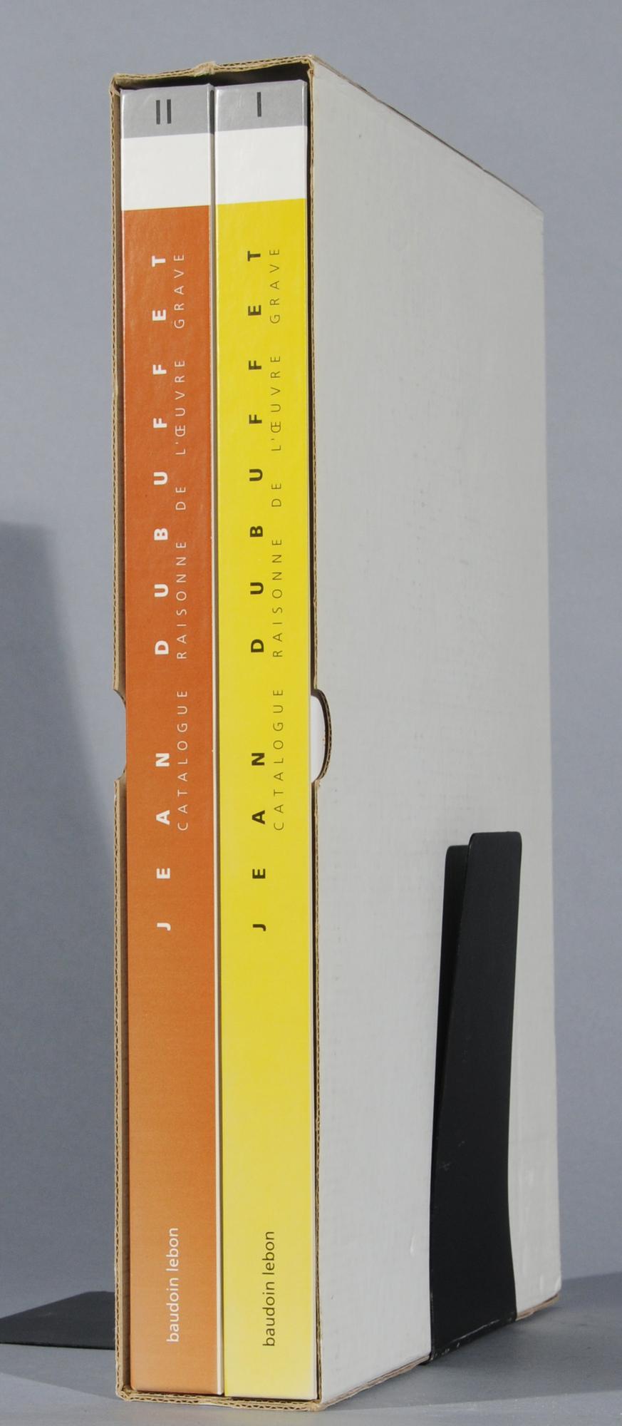 Dubuffet Jean, Catalogue Raisonné. Sophie Webel. L'oeuvre gravé et les livres illustrés par Jean Dubuffet, Catalogue raisonné I et II