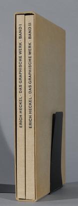 Heckel Erich, Werkverzeichnis. Annemarie und Wolf-Dieter Dube. Erich Heckel, Das grafische Werk, Bd. I und II