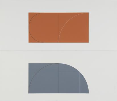 Mangold Robert, Folder. Book Of Silk Prints, Multiple Panel