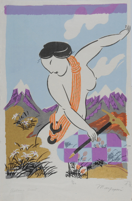 Grafik, 16 sheets: K. Awazu (8); S. Ono (4); N. Matsubara; Y. Sekine; T. Oyamatsu; O. Mayumi
