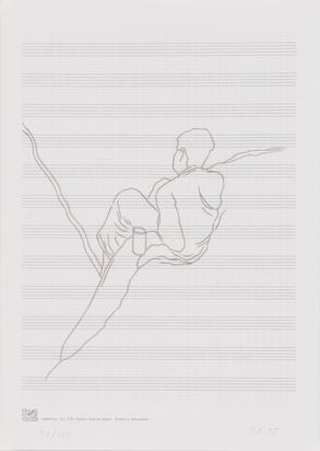 Konvolut, 2 folders: Illona Ruegg; Andres Lutz/Anders Guggisberg