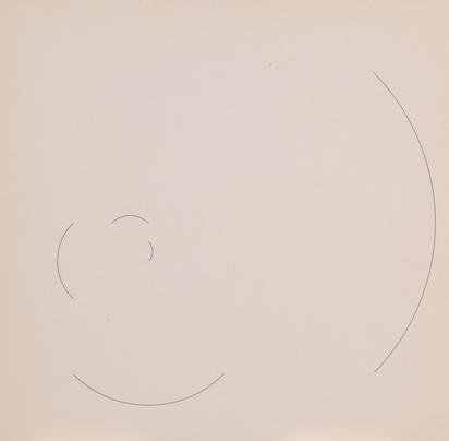 Vieira Mary, 2 folders. Zeiten einer Zeichnung 1+2, Max Bill zum Geburtstag 1952 und 1953
