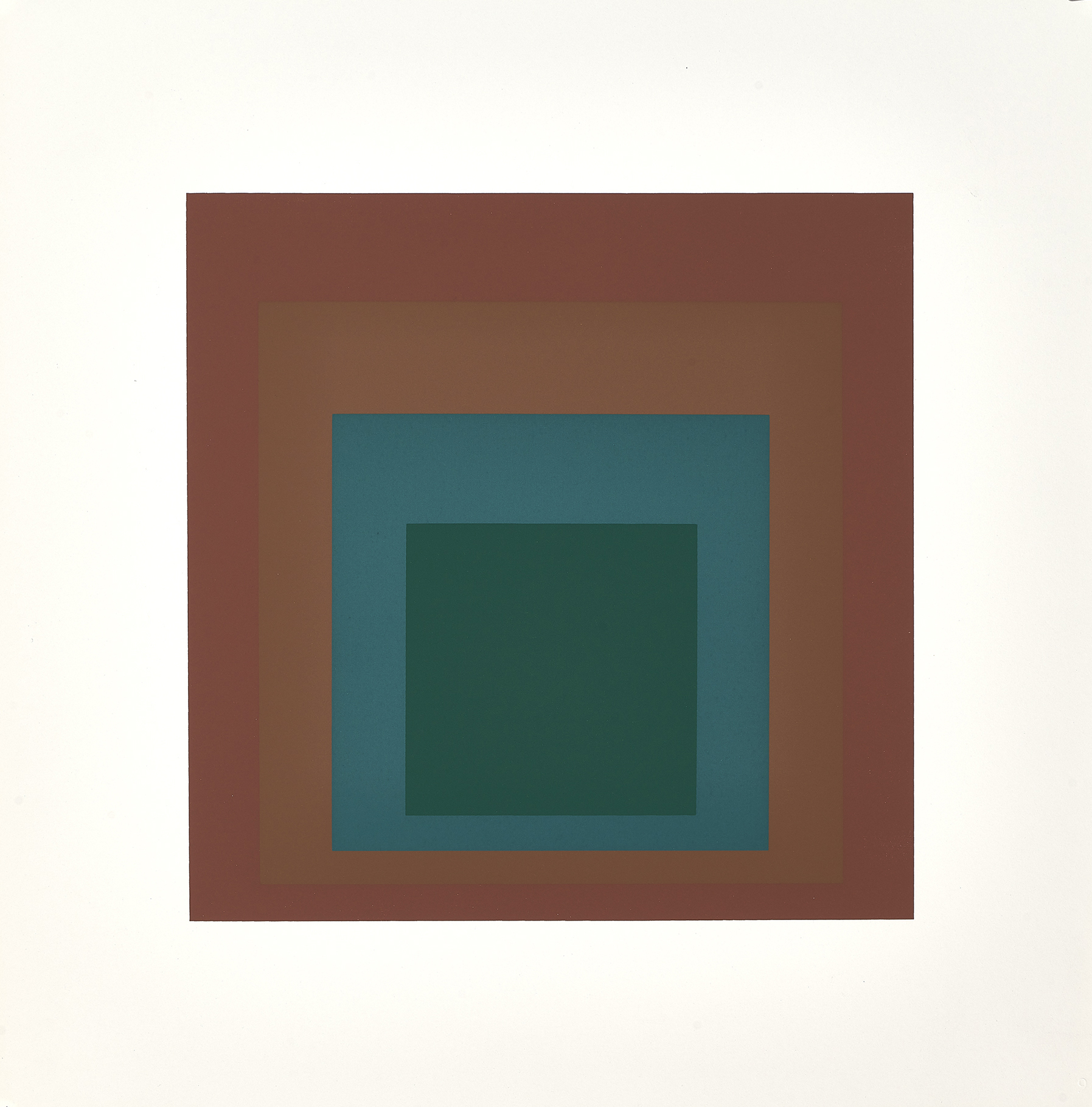 Albers Josef, Portfolio. Homage to the Square: Ten Works by Josef Albers
