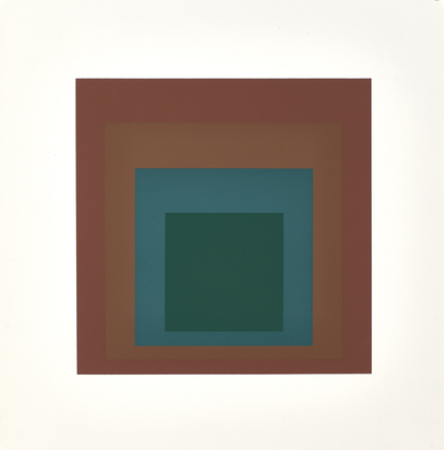 Albers Josef, Portfolio. Homage to the Square: Ten Works by Josef Albers
