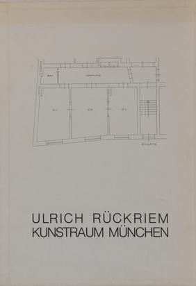 Rückriem Ulrich, Portfolio. Kunstraum München