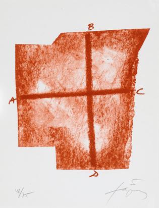 Tàpies Antoni, Book. Werner Schmalenbach. Drei Reden über Antoni Tàpies