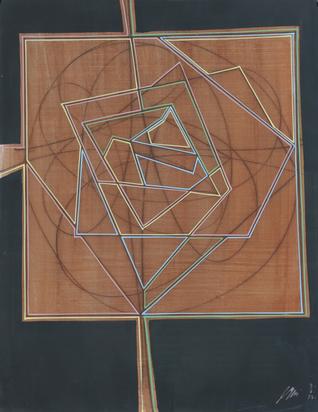 Erni Hans, Abstract Composition