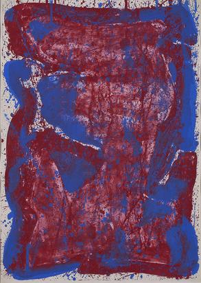Francis Sam, Affiche Moderna Museet Stockholm (SF-16)