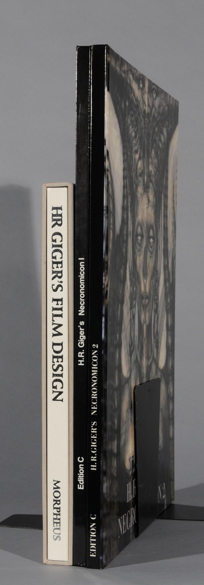 Giger H.R., Book. HR Giger's Film Design