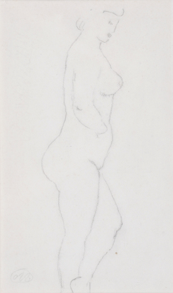 Maillol Aristide, Female Nude