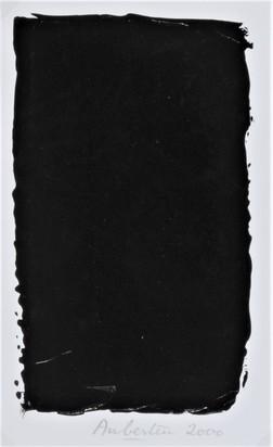 Aubertin Bernard, Peinture noire