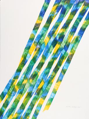 Dorazio Piero, 2 sheets: Untitled, 1981; Untitled, 1988
