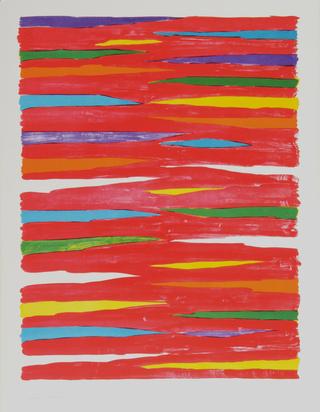 Dorazio Piero, 3 sheets: Senza titolo, 1974; Senza titolo, 1976; Senza titolo