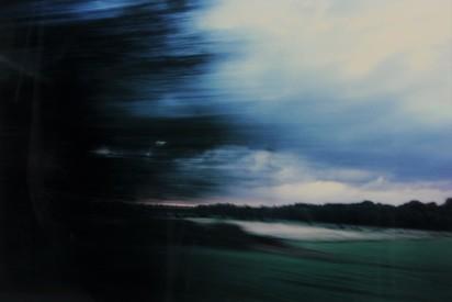 Müller Marianne, Landschaft mit gelbem Horizont