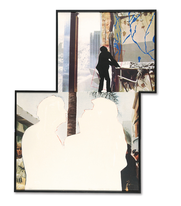 """Baldessari John, One and Three Persons (with Two Contexts - One Chaotic), from """"A French Horn Player, A Square Blue Moon, and Other Subjects"""""""