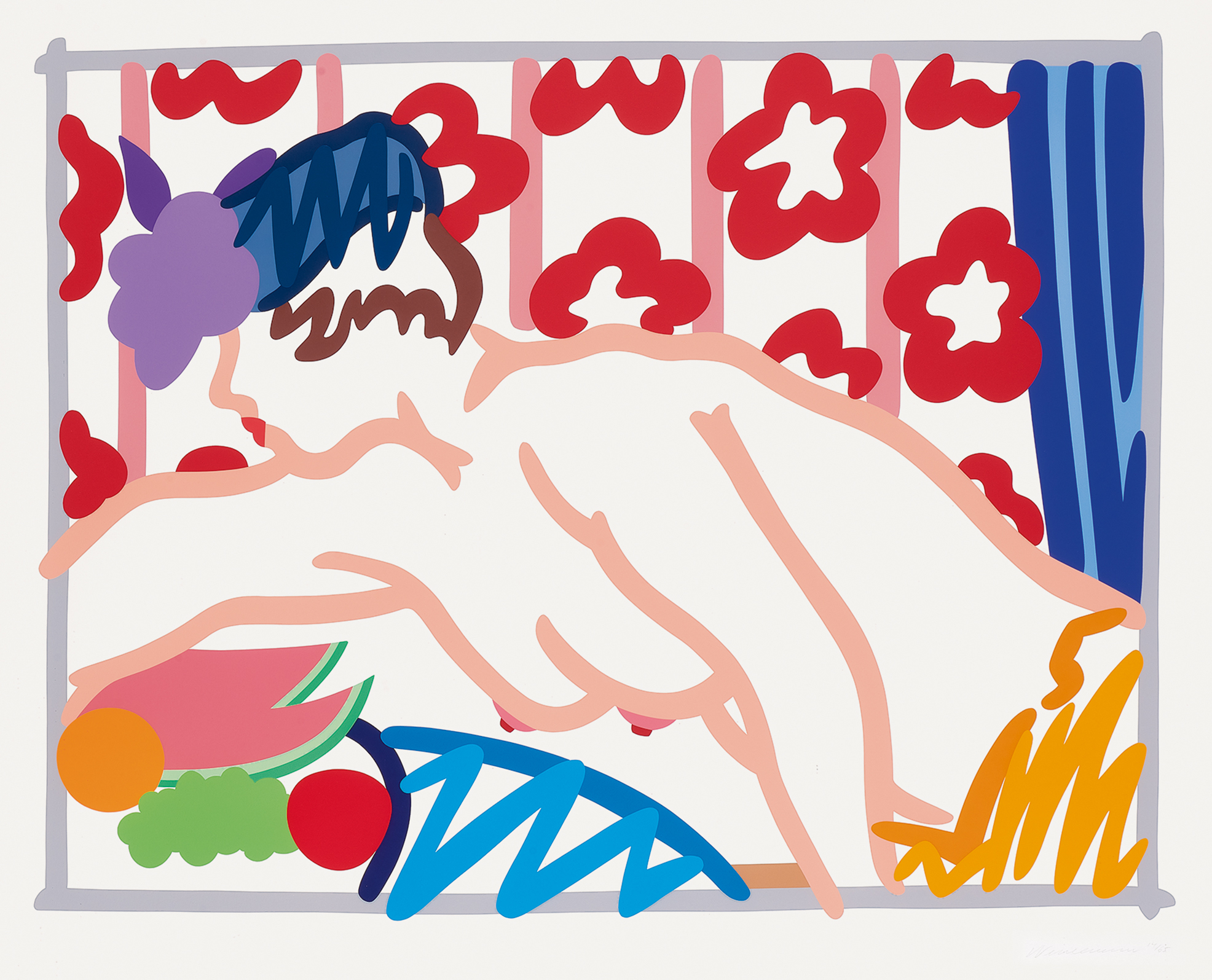 Wesselmann Tom, Judy Reaching Over the Table