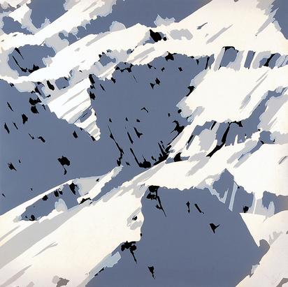"""Richter Gerhard, Sheet from """"Schweizer Alpen I"""""""