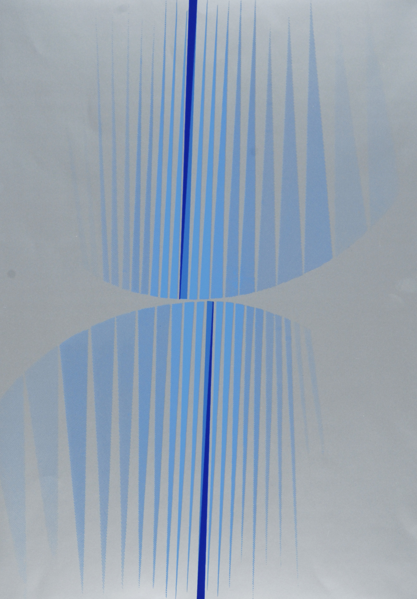 Quinte Lothar, 2 sheets: Schwarz-Rot, 1966; Blau auf Silber