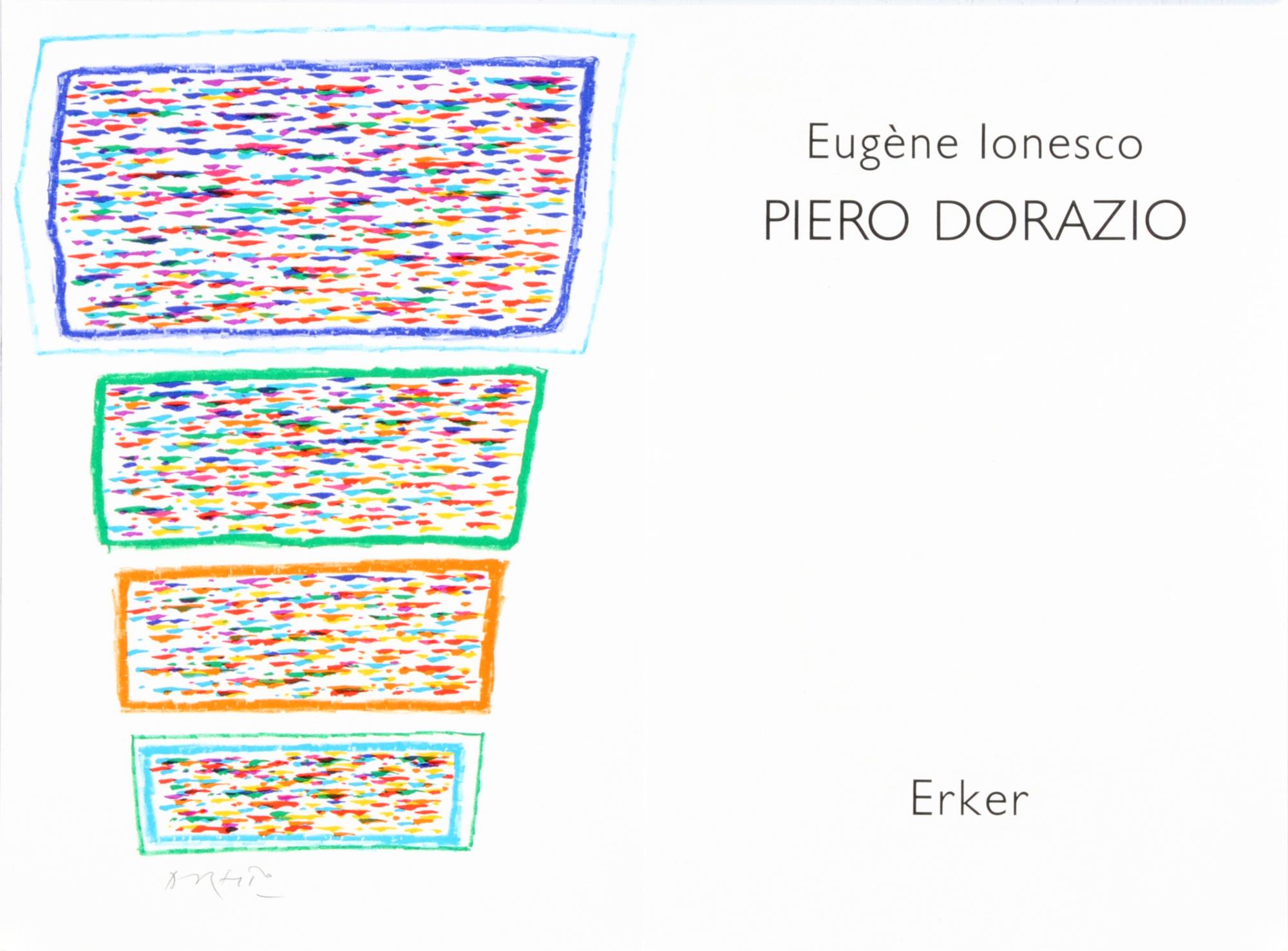 Dorazio Piero, Folder. Piero Dorazio