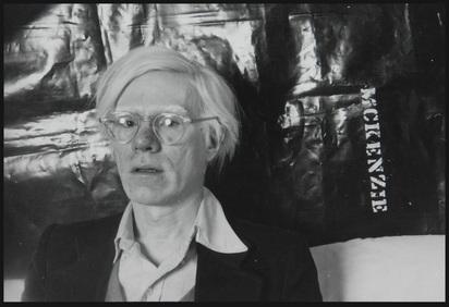 McKenzie Michael, Portrait Andy Warhol