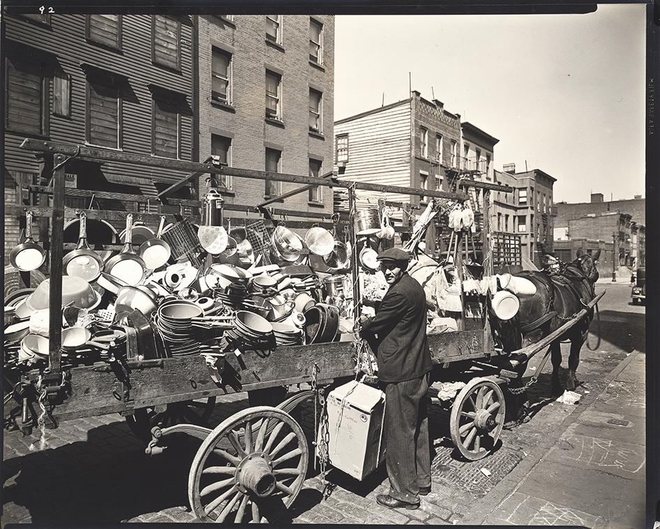 Abbott Berenice, Travelling Tin Shop - Brooklyn, NY.