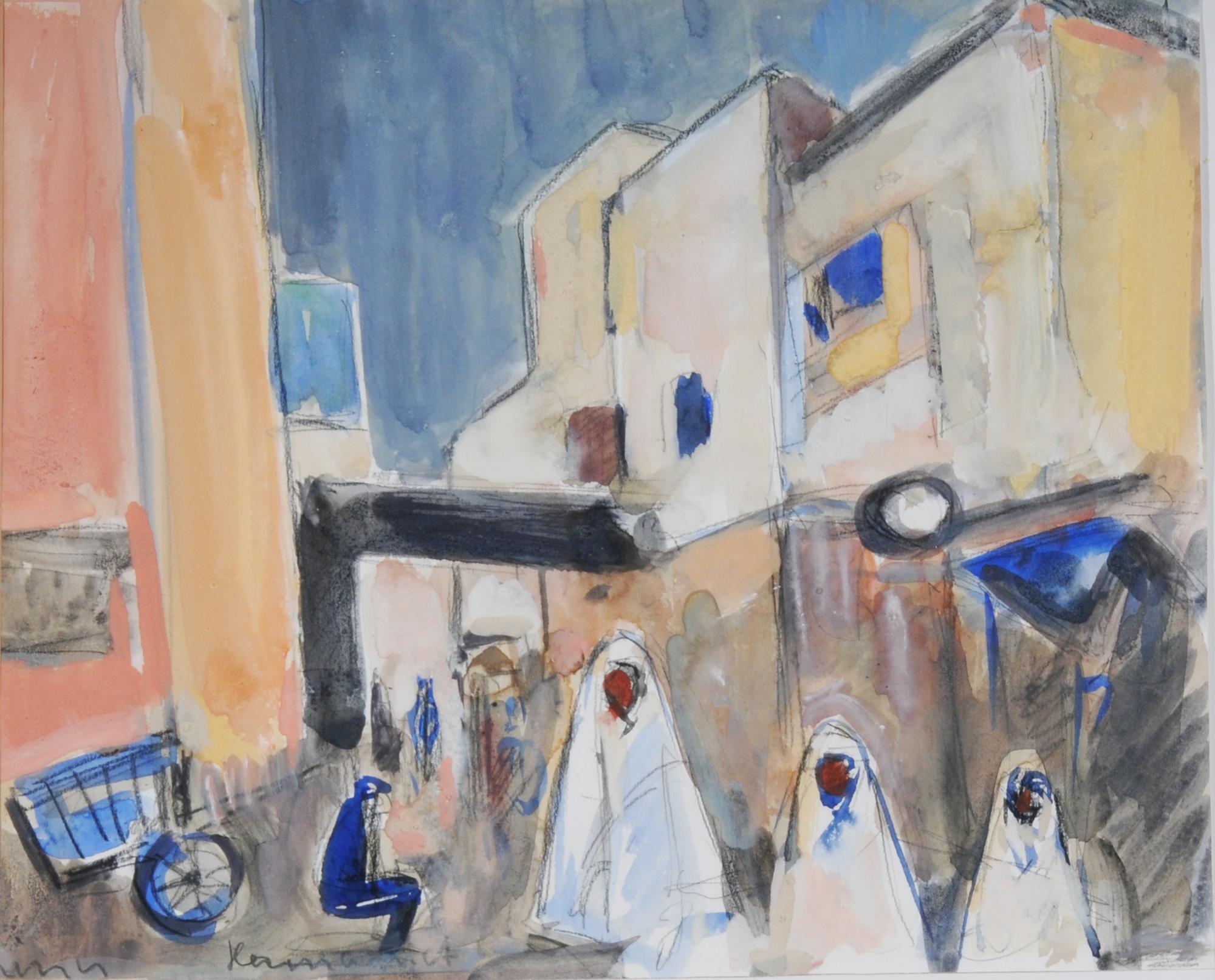 Liner Carl, Kairouan