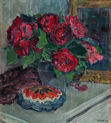 Barth Paul Basilius, Still Life with Flowers