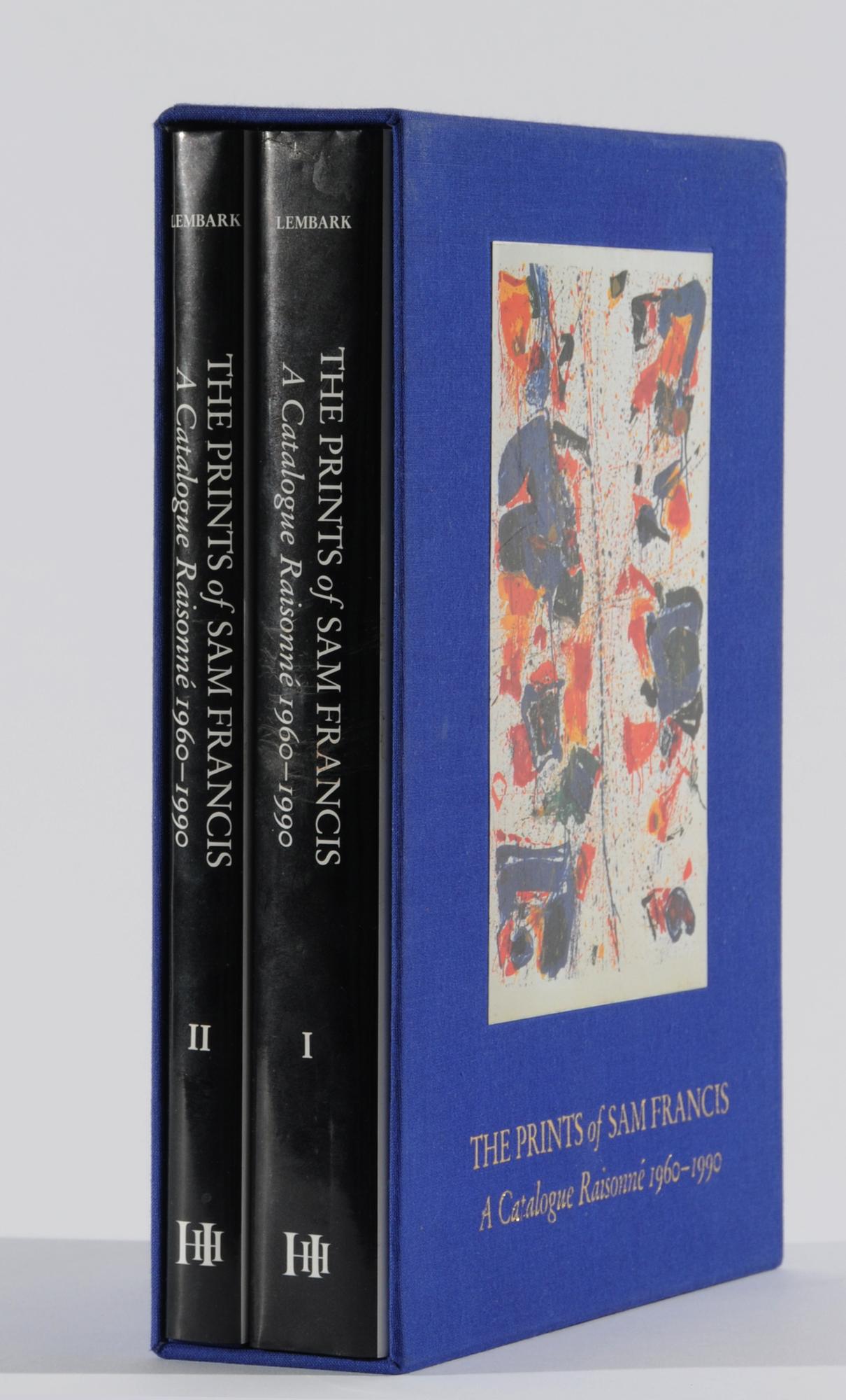 Francis Sam, Catalogue Raisonné: Connie W. Lembark. The Prints of Sam Francis. A Catalogue Raisonné 1960-1990, Volume I & II