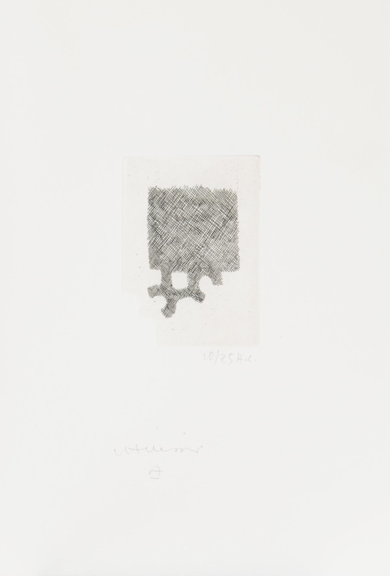Chillida Eduardo, Book. La sortie d'Égypte