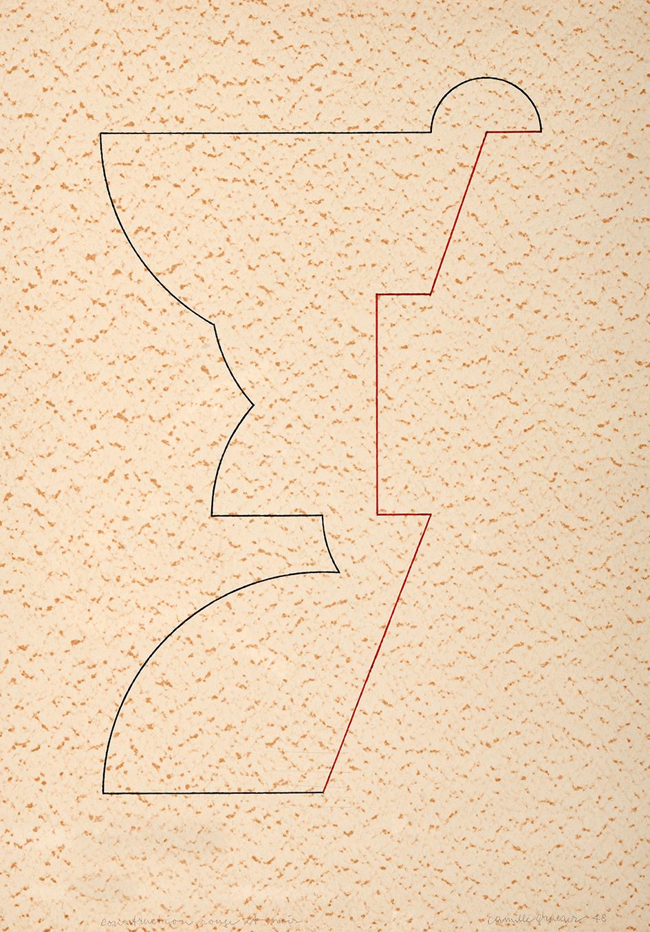 Graeser Camille, Construction rouge et noir