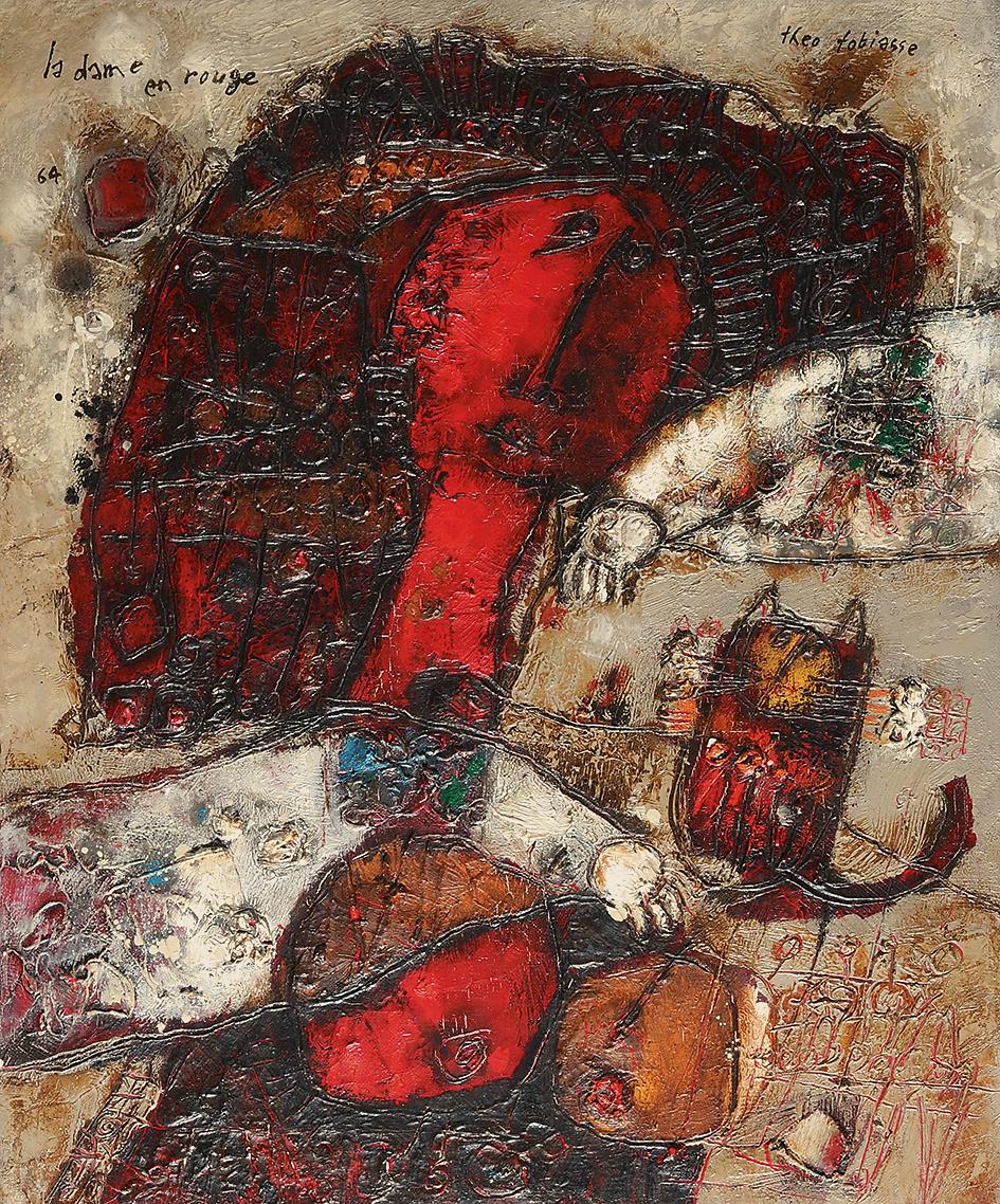 Tobiasse Théo, La dame en rouge