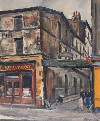 Oguiss Takanori, Rue d'Aubervilliers