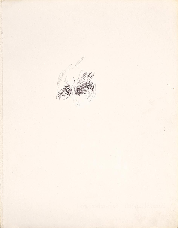 Giacometti Alberto, ****withdrawn****   Portrait Study of a Male